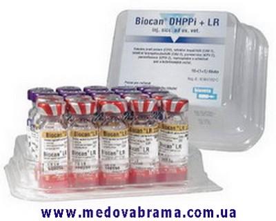 Биокан DHPPi+LR, 1 фл.