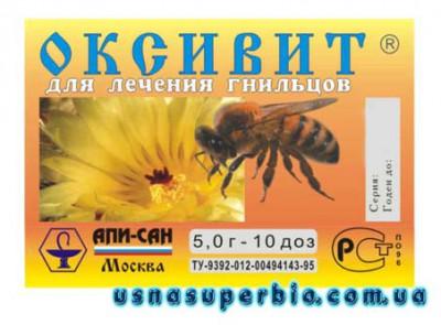 препараты оксивит пчел